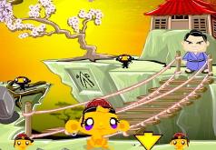Игры Счастливая обезьянка Ниндзя 2