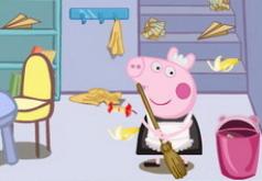 игры свинка пеппа уборка в доме