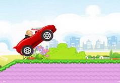 Игры Бродилки милашки Барби в машине