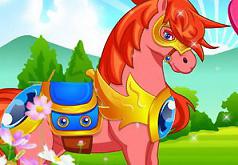 игры уборка в конюшне с лошадьми