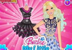 Игры Барби Маленькое чёрное платье часть 2