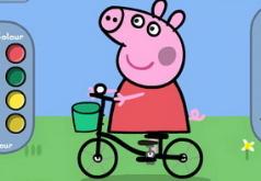 игры раскраски для детей свинка пеппа
