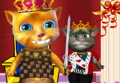 Игры Говорящий кот Коронация принца Рыжика