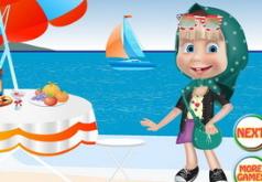 Игры Маша на пляже