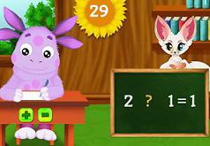 Игры Лунтик и экзамен по математике