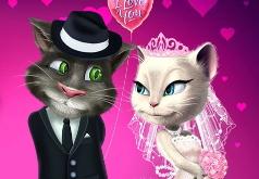 Игры Свадебная вечеринка говорящих Тома и Анжелы
