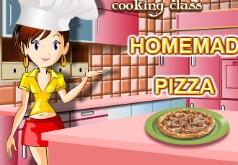 игры кухня сары готовим пиццу 2