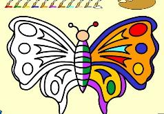 игры рисовать бабочек
