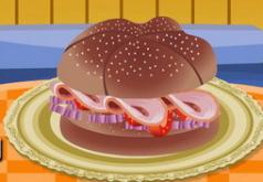 игры вкусный гамбургер с индейкой