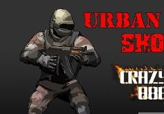 Игры Солдат против бандитов в крутой стрелялке
