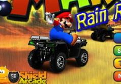 Игра Марио гонка под дождем
