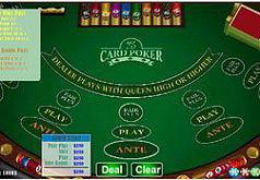 Игра 3 карты покера Сим