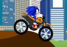 Игры Соник на велосипеде