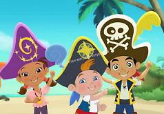 Игры Джейк и пираты Нетландии в поиске цифр