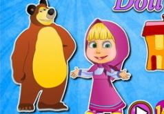 Игры Кукольный домик Маши и Медведя