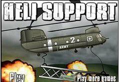 Игры Вертолет поддержки