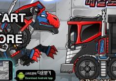 Игры Дино робот Мегалозавр