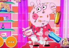 Игра Помой Свинку Пеппу