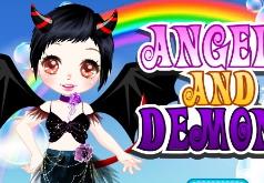игры аниме ангелы и демоны