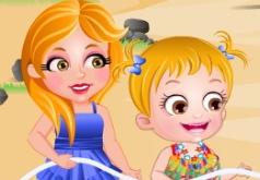 Игры Хейзел и её сестра