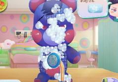Игры Медведь Тедди у доктора