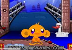 игры счастливая обезьянка индейка