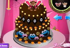 Игры Вкусный торт Монстр Хай
