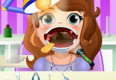 игры лечить горло