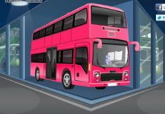 Игры Собери и укрась автобус