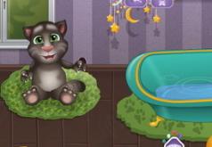 купать кота тома игра