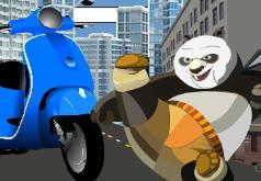 игры кунгфу панда на скутере
