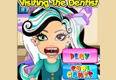 Игры монстр хай зубы
