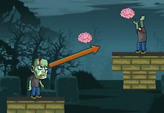 Игры Бросать голову зомби