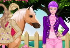 игры на вынос барби и лошадь
