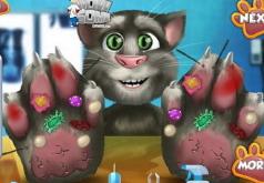 Игры Больные лапы Говорящего кота