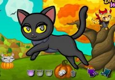Игра Идеальный кошачий Хэллоуин