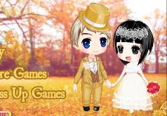 Игра Красивая свадьба золотой осенью