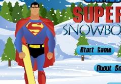 Игры Супермен Сноубордист