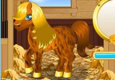 игры про лошадей чистить