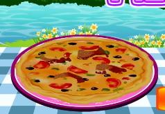 игры приготовление рыбной пиццы