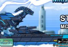 Игры Робот Ниндзя Парейазавр
