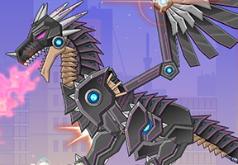 Игры Робот черный дракон