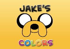 Игра Время приключений Цветной Джейк