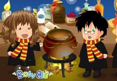 Игры Гарри Поттер и волшебные человечки