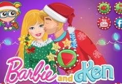 Игры Барби и Кен Готовятся к Рождеству