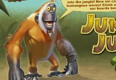 игры прыгающая голодная горилла