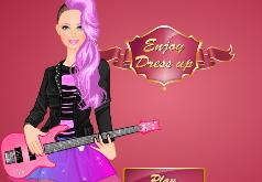 Игра Барби Рок Принцесса: Большая одевалка