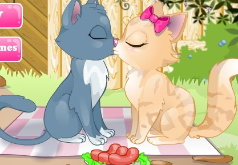 Игры поцелуй котенка