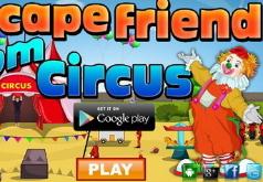 Игра Побег друга из цирка