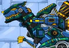Игры Робот тираннозавр